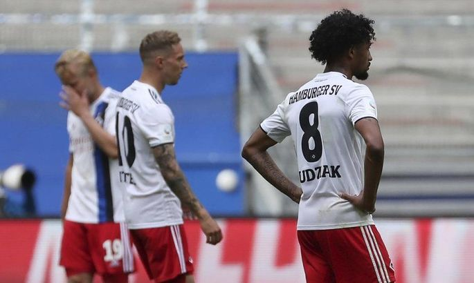 Поражение 1:5 и еще один сезон в Бундеслиге 2. Эпичный провал Гамбурга