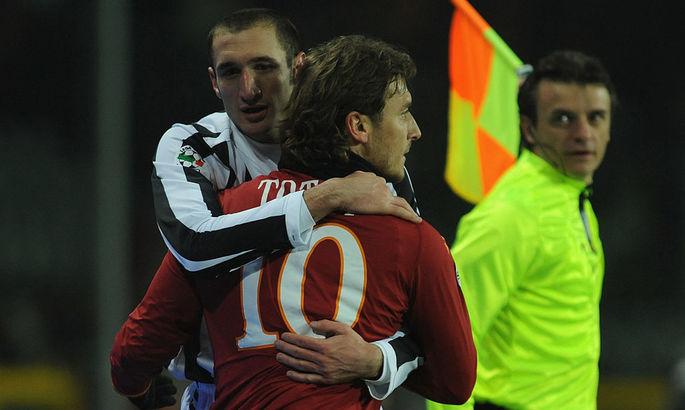 Кьеллини: Тотти мог выиграть Золотой мяч, Оуэн и Шевченко получали награду, а они были не лучше за Франческо