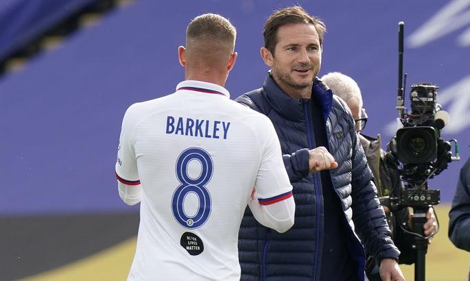Баркли: В перерыве Лампард сказал, что мы недостаточно хороши для Челси