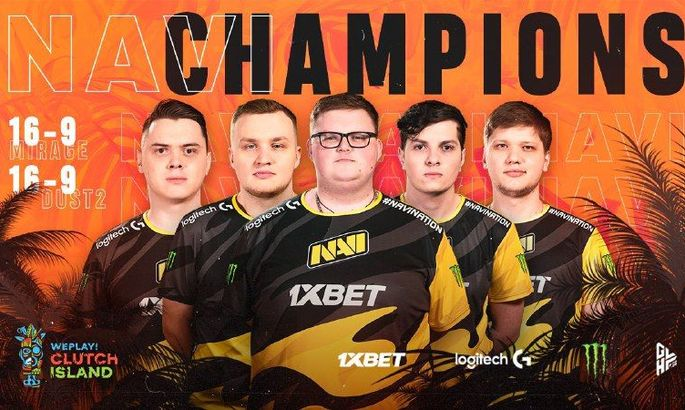 Natus Vincere - чемпіон WePlay! Clutch Island