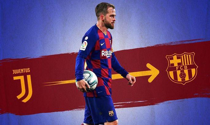 """""""Я отдам всего себя ради Барселоны"""". Пьянич попрощался с Юве и обратился к фанатам каталонцев"""