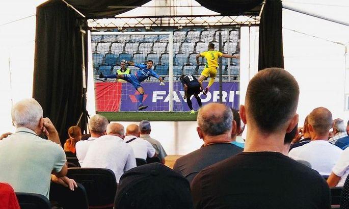 В Ивано-Франковске нашли свой выход, чтобы помочь болельщикам увидеть футбол