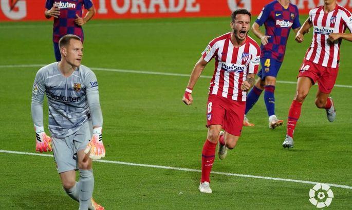 Примера. 33-й тур. Барселона - Атлетико 2:2. Пенальти как залог результативности