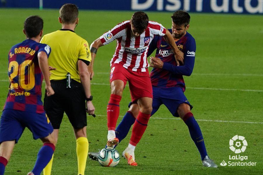 Прімера. 33-й тур. Барселона - Атлетико 2:2. Пенальті як запорука результативності - изображение 1