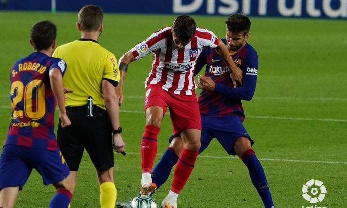 С юбилейным голом Месси. Барселона - Атлетико 2:2. Обзор матча и видео голов