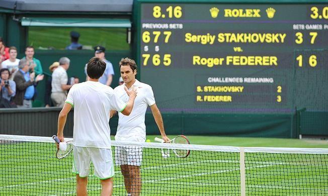 """""""Це було чарівно"""": день, коли Стаховський перервав історичну серію Федерера"""