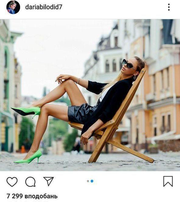 На стиле: Дарья Билодид не перестает удивлять болельщиков новыми снимками. Фото - изображение 1