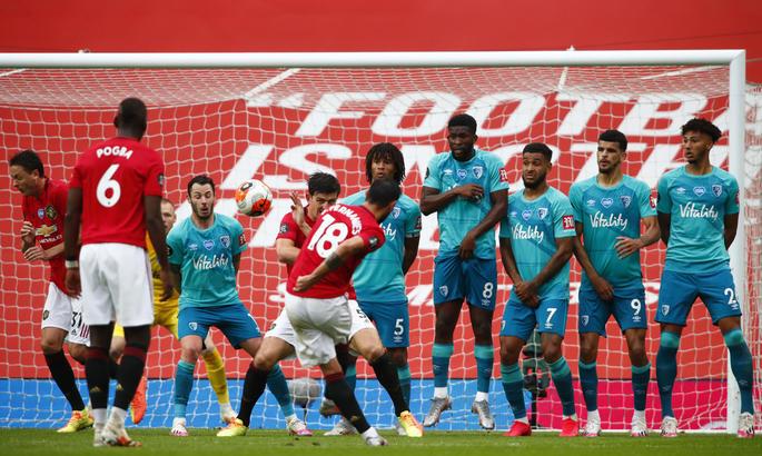 Ман Юнайтед громит Борнмут и выходит на четвертое место, Лестер окапывается на третьем - изображение 1