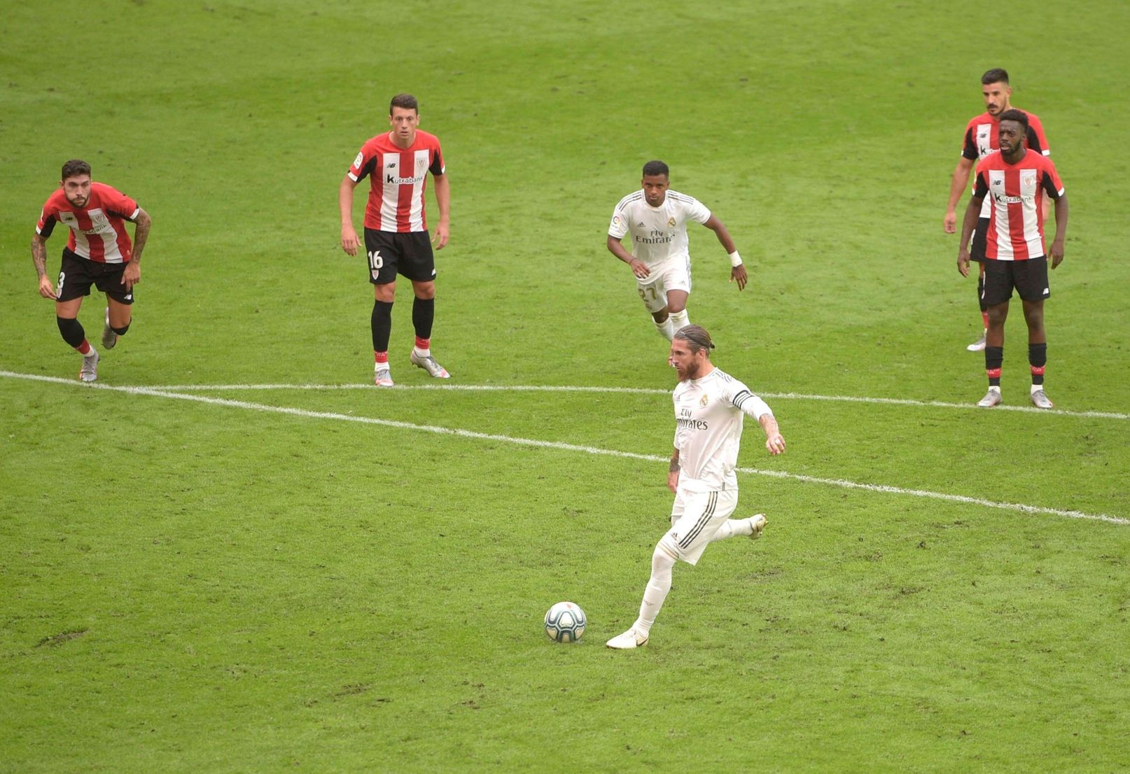 Серхіо Рамос після перемоги над Атлетіком: Реал лідирує в Ла Лізі не завдяки арбітрам - изображение 1