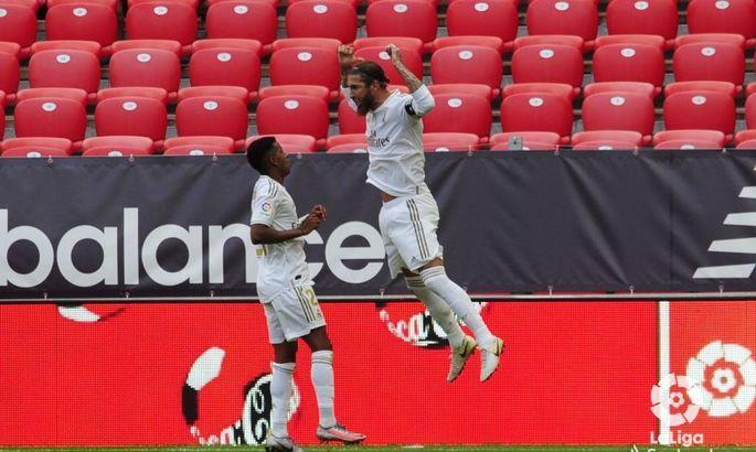Снова пенальти, снова Рамос. Атлетик - Реал 0:1. Обзор матча и видео гола