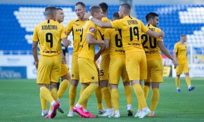 Олимпик - СК Днепр-1 0:2. Обзор матча и видео голов