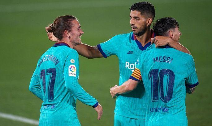 Вільярреал - Барселона 1:4. Наче в епоху MSN