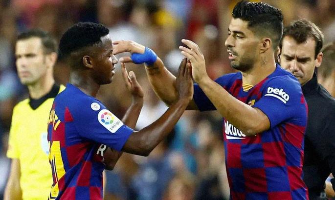 Каталонские цифры: Суарес вошел в тройку бомбардиров Барселоны, Фати забил 9000-й гол в истории клуба