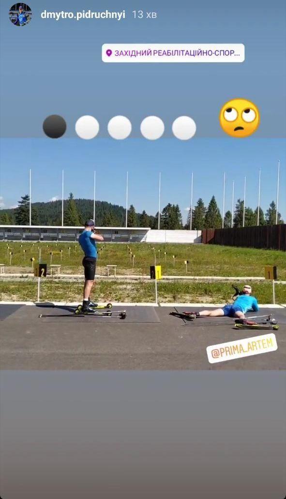 Тяжелые тренировочные будни: Мужская сборная Украины отрабатывает скоростные и стрелковые навыки. Фото - изображение 1
