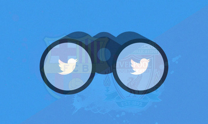 Почти половина подписчиков Ливерпуля в Твиттере – ненастоящие. У Барселоны таких – 25% от общего числа