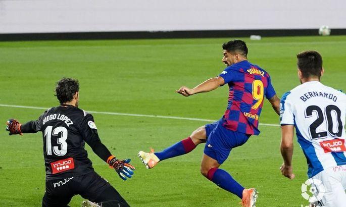 Прогнозований підсумок дербі. Барселона - Еспаньол 1:0. Огляд матчу та відео голу