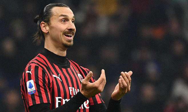 """""""Златан не играет в Лиге Европы"""". Ибрагимович прокомментировал положение Милана и свое будущее"""