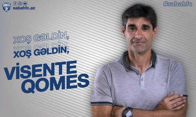 Офіційно: Вісенте Гомес очолив клуб з Азербайджану
