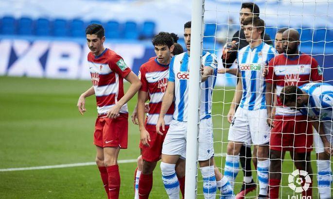 Примера. 35-й тур. Реал Сосьедад тонет в матче с Гранадой