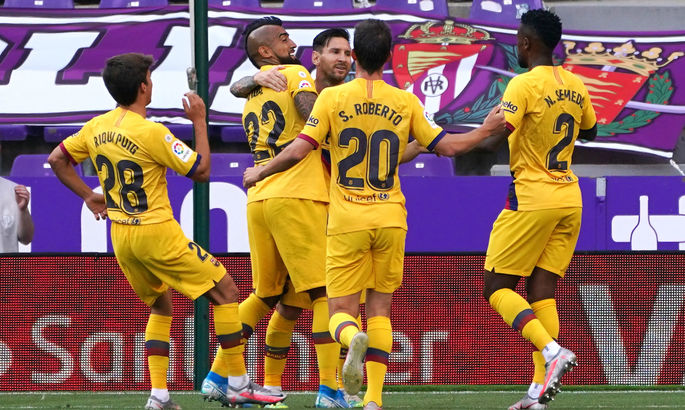 Вальядолид - Барселона 0:1. А за кого играл Гризманн?