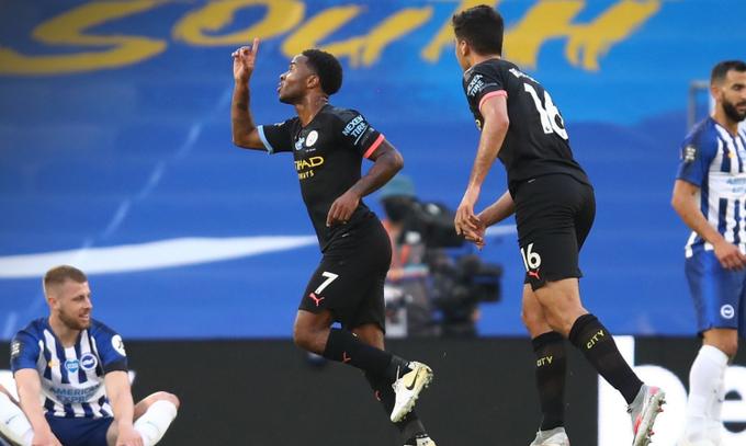 Брайтон - Манчестер Сіті 0:5. Головне не виграти - головне знищити