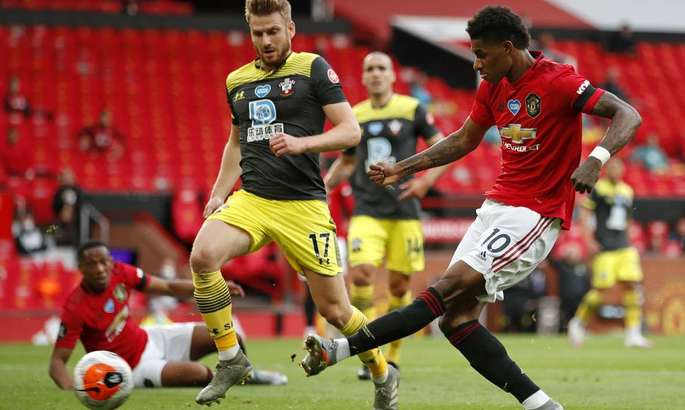 АПЛ. Манчестер Юнайтед - Саутгемптон 2:2. Упущенный шанс Сульшера