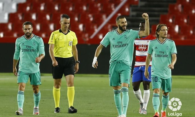 Примера. 36-й тур. Гранада - Реал 1:2. К чемпионству с нечемпионской игрой