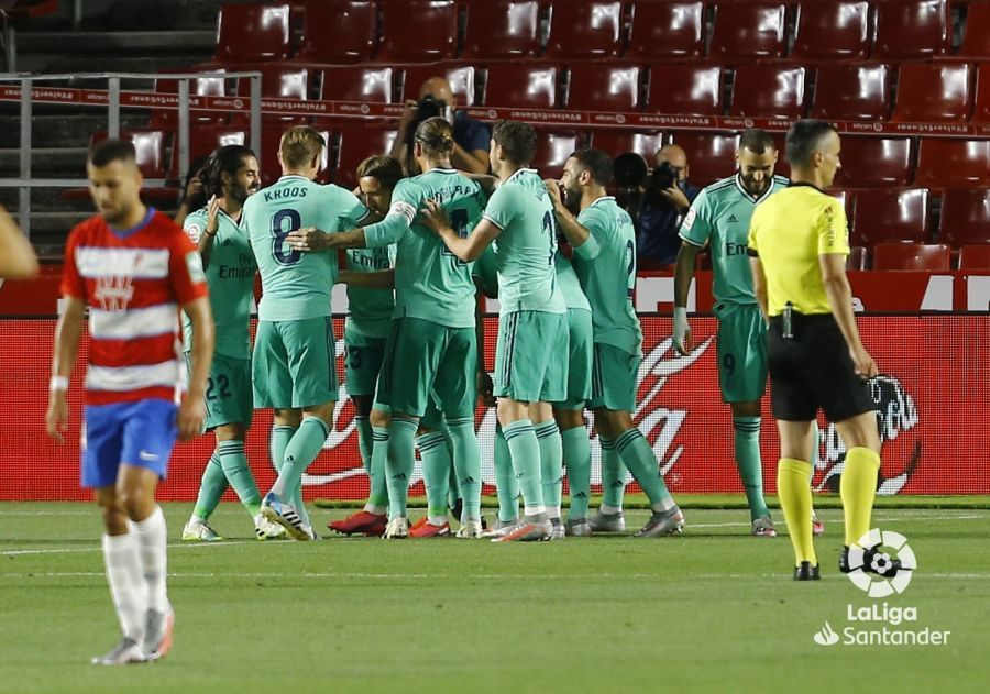 Прімера. 36-й тур. Гранада - Реал 1:2. До чемпіонства з нечемпіонською грою - изображение 1