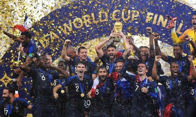 Действующий король. Два года назад Франция выиграла Чемпионат мира