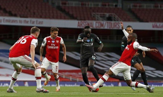 Арсенал - Ливерпуль 2:1. Три удара - два гола