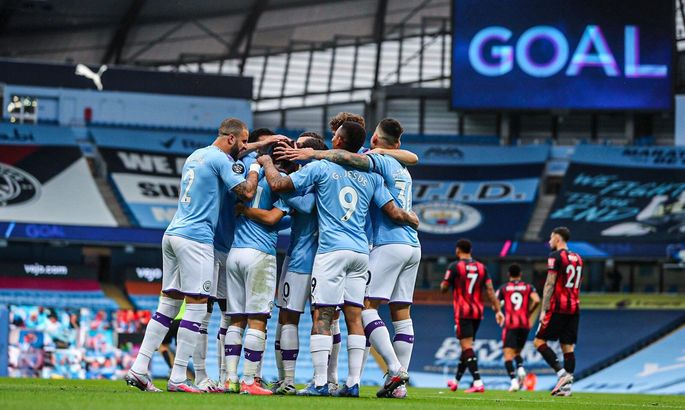 Два разных тайма. Манчестер Сити – Борнмут 2:1. Обзор матча и видео голов