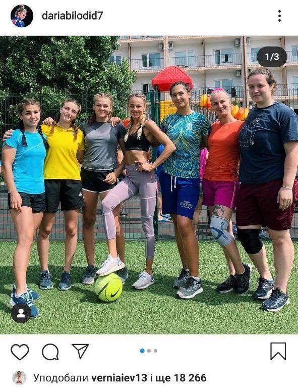 Дарья Билодид осваивает новый вид спорта. Фото - изображение 2