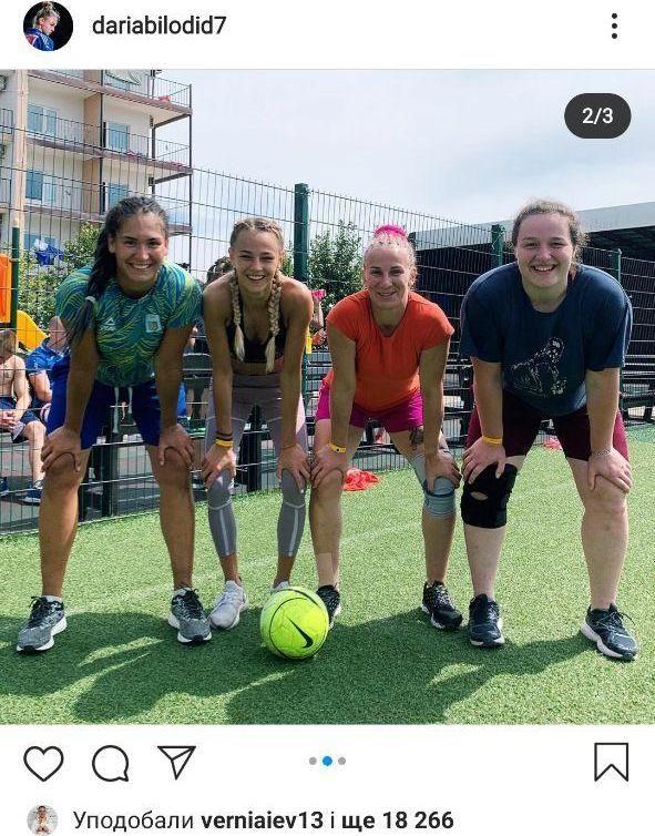 Дарья Билодид осваивает новый вид спорта. Фото - изображение 3