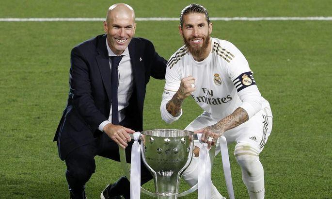 Рамос: Чего бы ни желал Перес, я воодушевлен и хотел бы завершить свою карьеру в Мадриде