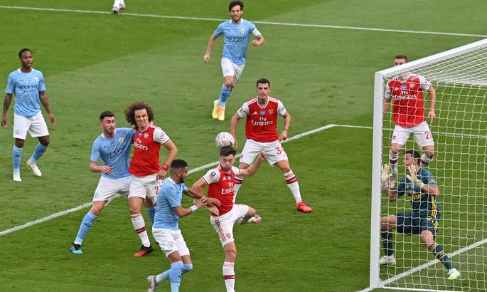 Арсенал - Манчестер Сіті 2:0. Справжнє диво імені Обамеянга і Артети - изображение 2