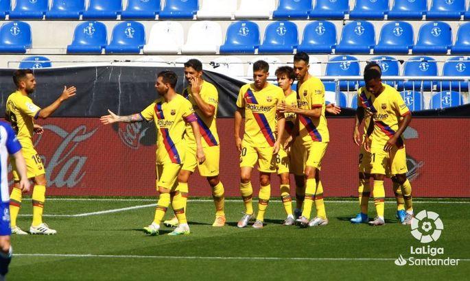 Примера. 38-й тур. Алавес - Барселона 0:5. Хорошо, но поздно