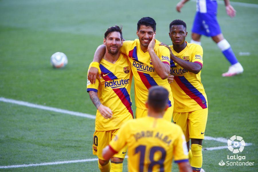 Примера. 38-й тур. Алавес - Барселона 0:5. Хорошо, но поздно - изображение 1