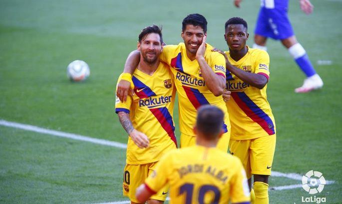 Месси выиграл гонку. Алавес - Барселона 0:5. Видео голов и обзор матча