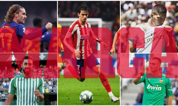 Гризманн, Йович, Фелиш – в сборной разочарований Ла Лиги сезона-2019/20 по версии Marca