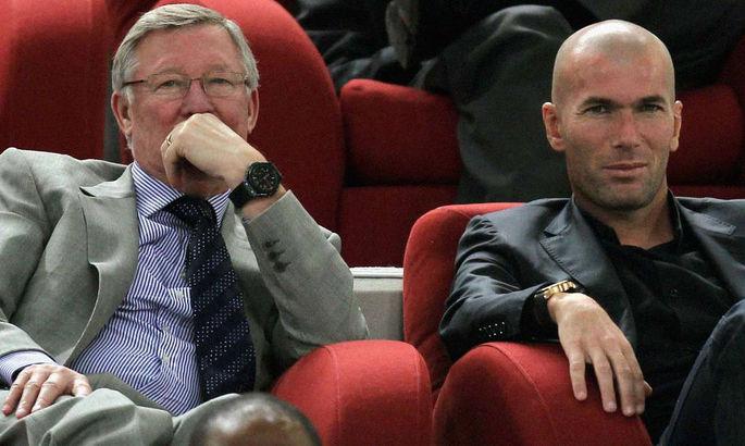 Перес хочет, чтобы Зидан стал для Реала тем же, кем был Фергюсон для Манчестер Юнайтед