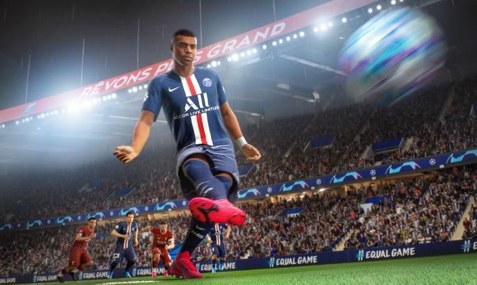 Мбаппе - лицо официальное FIFA 21. Француз попал на глобальную обложку