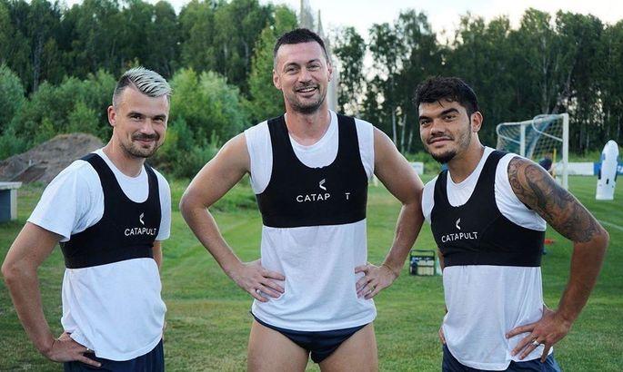 Нойок и Милевский вернулись к тренировкам в общей группе Динамо