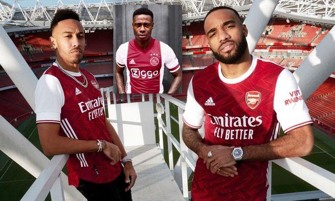 Арсенал и Аякс представили новые формы на следующий сезон