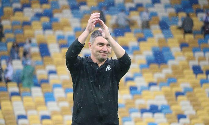 Наставник Колоса Костышин был удален в матче с Динамо