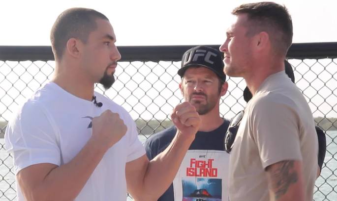 Главный бой UFC on ESPN 14: Уиттакер по очкам победил Тилла