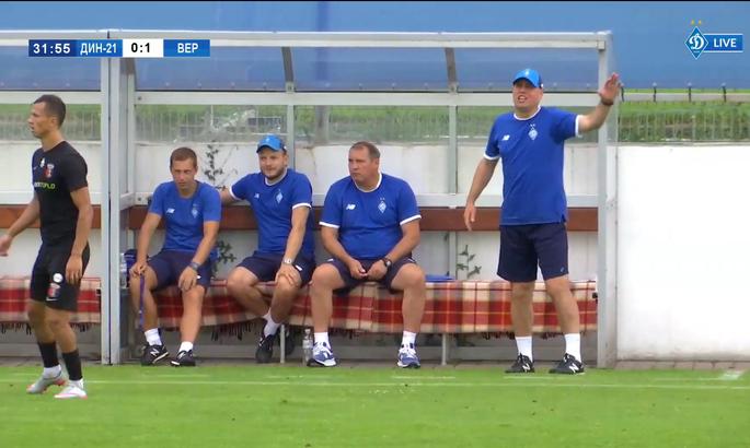 Контрольний матч. Динамо U-21 програло Вересу 0:1