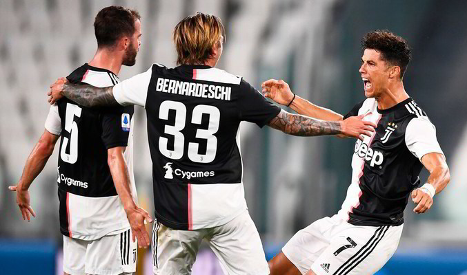Серия А. Ювентус - Сампдория 2:0. Маленький щит на воротах своей крепости