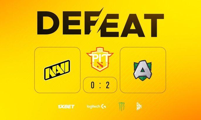 NaVi проиграли Alliance в полуфинале OGA Dota PIT 2020
