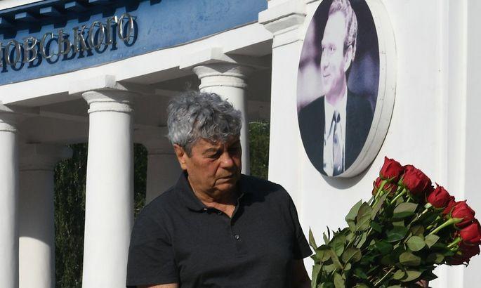 Луческу: Лобановский - один из лучших тренеров в истории футбола