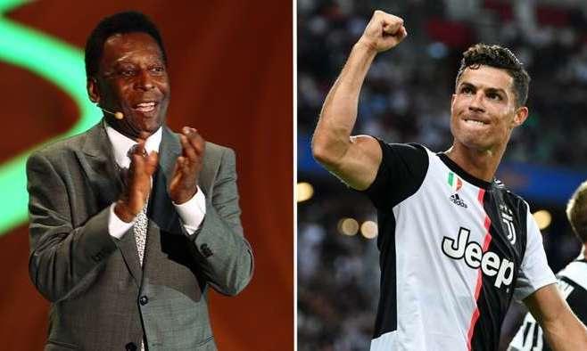 Пеле поздравил Роналду и Ювентус с чемпионством